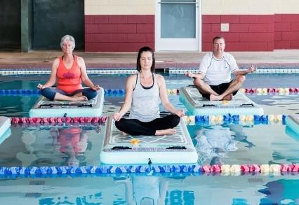 Boga Fitmat Offers Floating Fitness Options Australasian