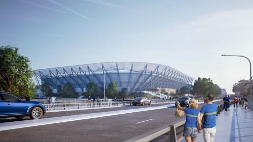 Parramatta Stadium Demolition Makes Way For New Western Sydney Stadium Australasian Leisure