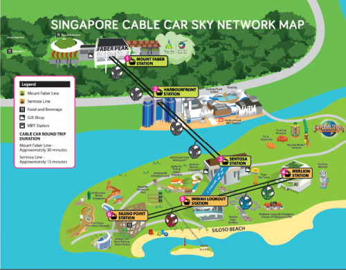 How To Get To Sentosa Island By Cable Car