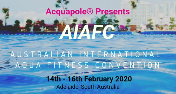 Australian International Aqua Fitness Convention to be held in Adelaide in 2020