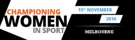 New conference Championing Women in Sport