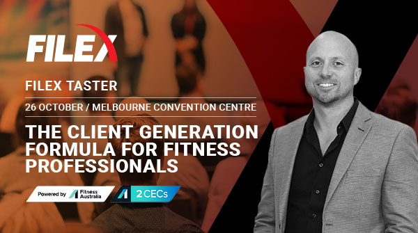 FILEX 'taster' event to deliver education alongside The Fitness Show Melbourne