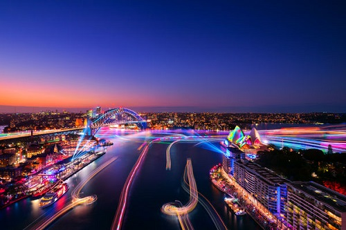 Vivid Sydney attracts record long weekend attendances