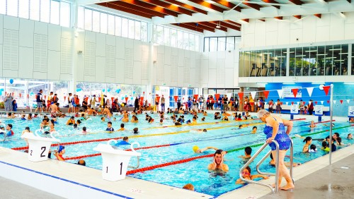 Angelo anestis aquatic centre attracts over 70 000 visits since australia day opening for North sydney pool swimming lessons