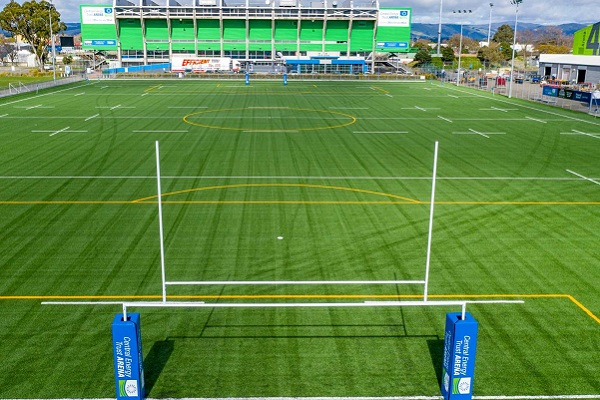 New artificial turf field revealed at Palmerston North's