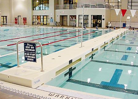 Moveable Bulkheads Aid Aquatic Centre Programming