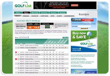 Golf Australia regains commercial control of Golf Link