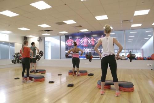 virtual group fitness