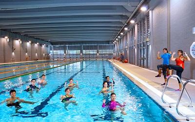 Ocbc aquatic centre at the heart of singapore s aquatic - Least crowded swimming pool singapore ...