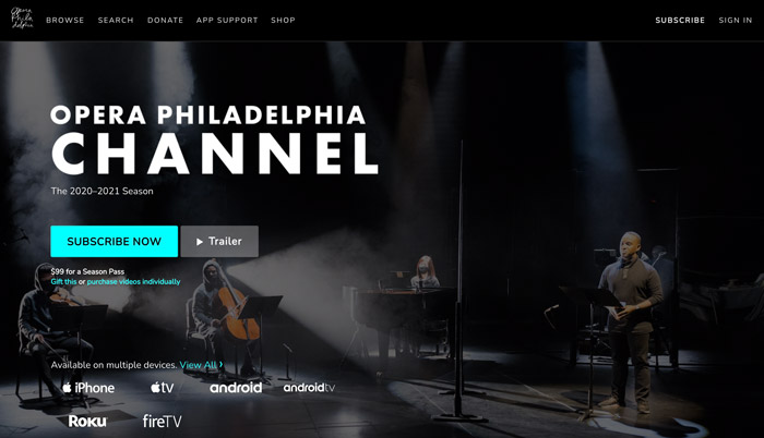 On stage vimeo