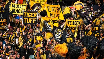 Richmond Football Club's off field success built on the industry