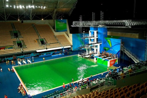 So Why Did Rio 39 S Olympic Pools Turn Green Australasian Leisure Management