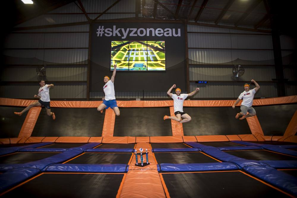 First Sky Zone Trampoline Arena Launches In Brisbane