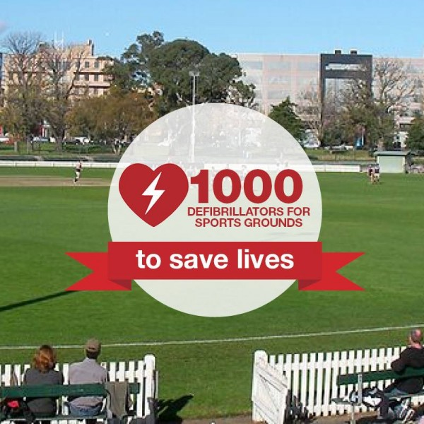 Labor pledges to give 1,000 defibrillators to Victorian sports clubs