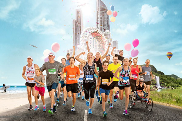 Record Gold Coast Marathon numbers prompt organisers to adapt the course