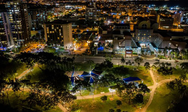 Construction complete on Darwin's Smart City project