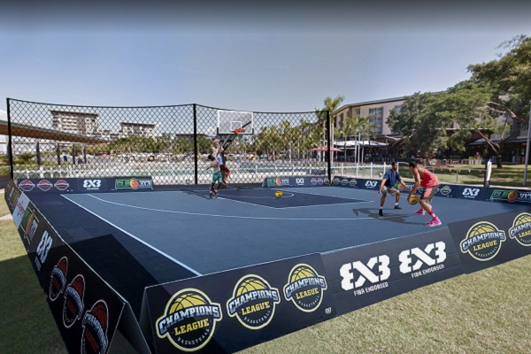 3X3 basketball set to open on the Darwin Waterfront