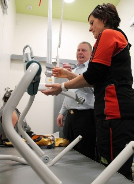 New mobility hoist debuts at Taupo's AC Baths