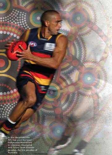 AFL congratulated for backing reconciliation initiatives