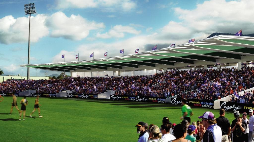 AFL Cairns looks for $25 million Cazalys stadium upgrade