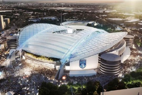 Designs revealed for new 70,000 capacity ANZ Stadium