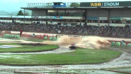 ASB Baypark transformed for Jetsprint championships event