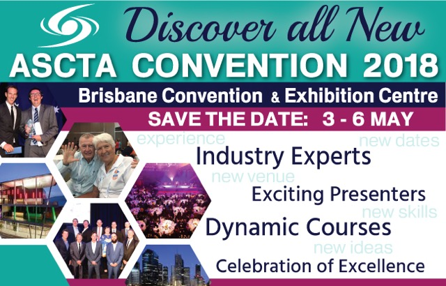 Details announced for ASCTACONVENTION 2018