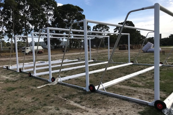 Leading goal post supplier reminds sports ground contractors and managers of dangers of non-compliant goals