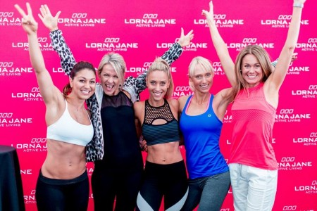 Lorna Jane backs Australians moving for a healthier nation