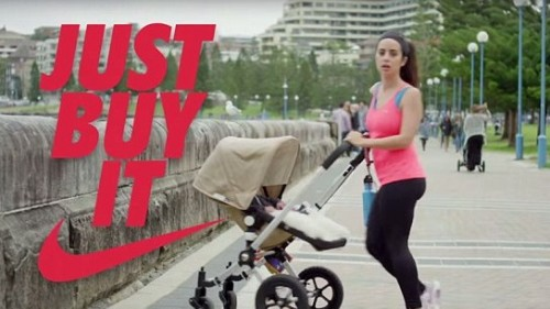 Comedy group parodies the active wear trend