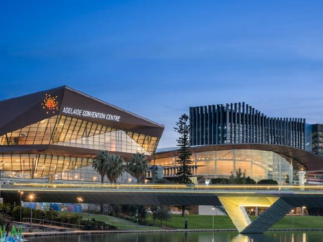 Completed Adelaide Convention Centre to stimulate South Australian economy