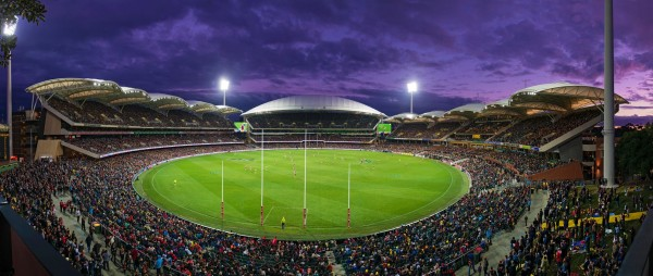 Permanent bollards boost external safety at Adelaide Oval