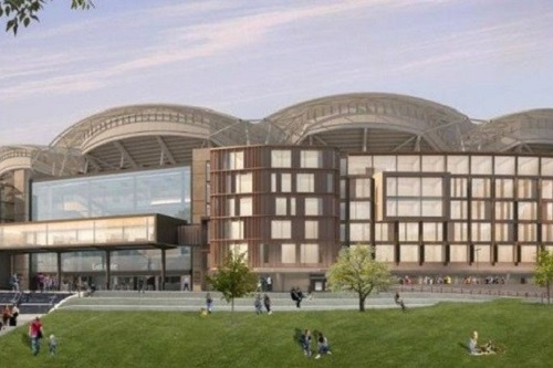 Hotel to be integrated into Adelaide Oval
