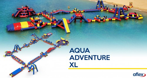 Aflex introduce new inflatable waterpark modules