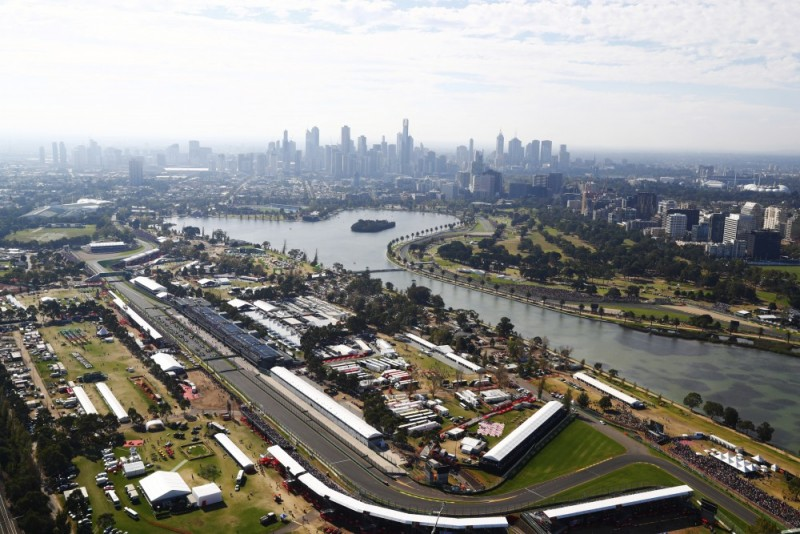 Australian Grand Prix the nation's biggest 'pop-up' event