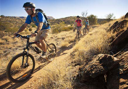Alice Springs welcomes new world-class mountain bike trail network
