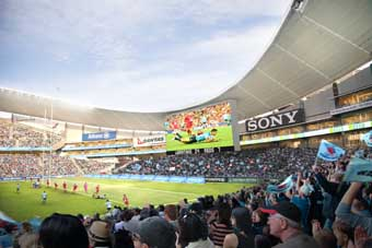 Allianz Stadium to offer largest ever superscreens