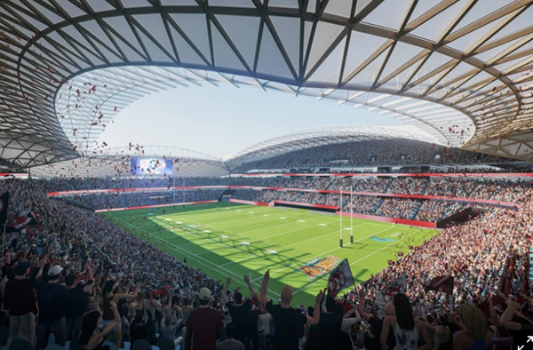 Sydney Football Stadium builders announced as costs blowout