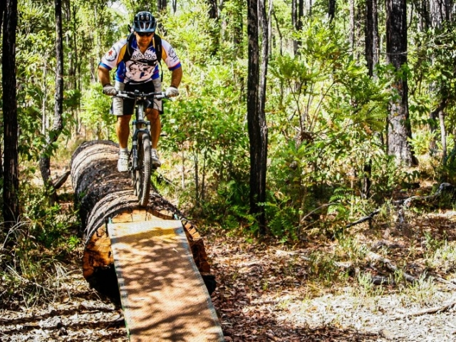 New Collie trails completed for mountain bike enthusiasts