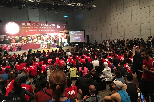 International interest in 10th Asia Fitness Conference