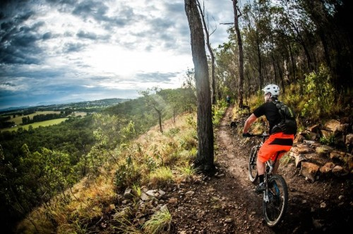 Mountain bike trails for Herberton Range State Forest
