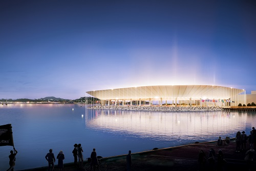 Auckland waterfront stadium makes the shortlist for World Architecture Festival Awards