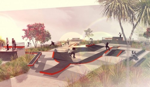 Skatepark and BMX circuit on track for summer opening