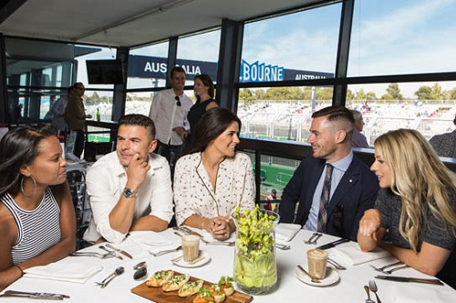 Australian Grand Prix appoints new catering partners