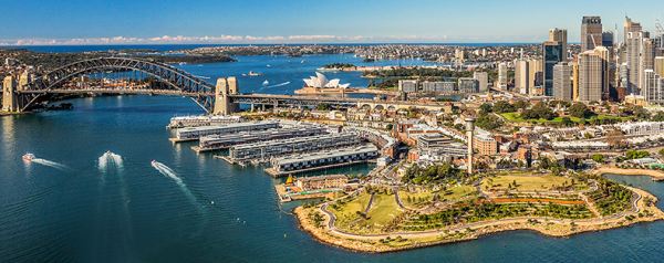 Barangaroo Reserve opening returns historic headland to Sydney