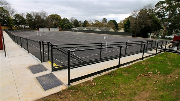 Upgrades completed on Drouin Recreation Reserve netball courts