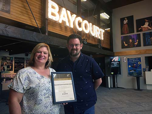 Baycourt Community and Arts Centre secures Gold Sustainable Tourism Business Award