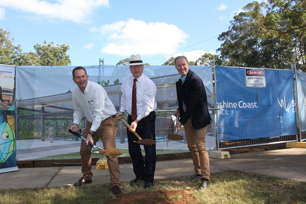 Expansion works commence at Sunshine Coast's Beerwah Aquatic Centre