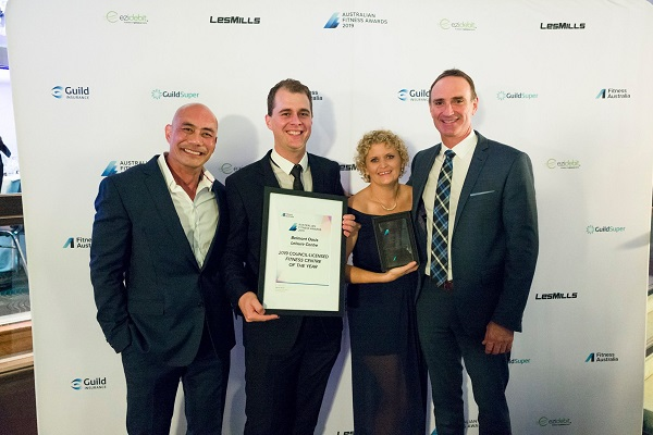 Belmont Oasis Leisure Centre named top council facility at 2019 Australian Fitness Awards