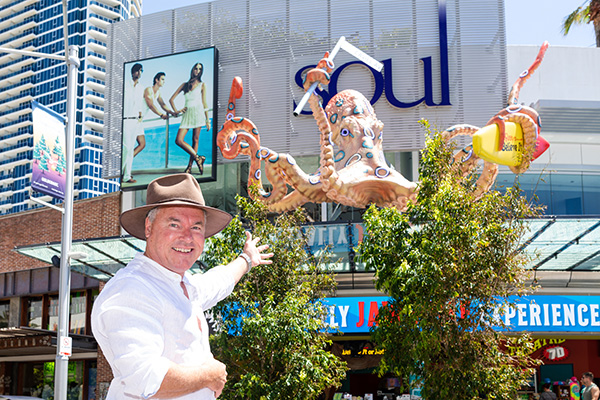 Gold Coast's Big Octopus is Australia's newest 'Big Thing'